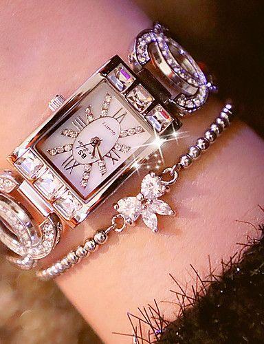 0ee67ab45 Women's Bracelet Watch Wrist Watch Quartz Wrap Quilted PU Leather Black /  Blue / Silver Cool