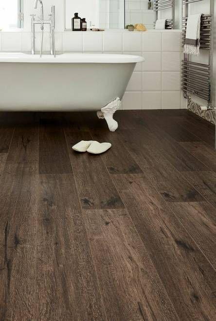 24 Ideas For Bathroom Floor Laminate Dark Bathroom Dark Brown