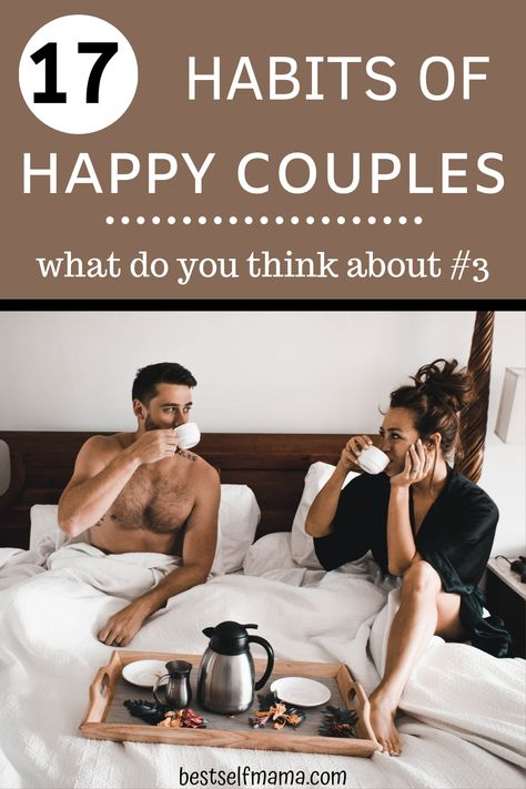How is your relationship going? Check out these habits of happy couples and see how your relationship measures up. #marriage #happycouples #relationships #marriedlife