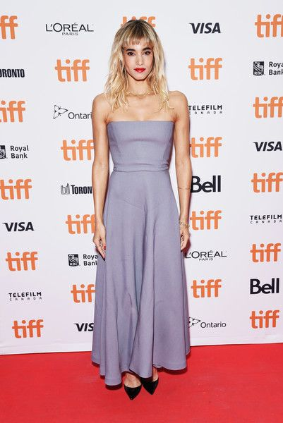 Sofia Boutella attends the 'Climax' premiere during 2018 Toronto International Film Festival.
