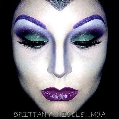 These Are The 6 Most Popular Halloween Makeup Looks On Pinterest Face Painting Halloween Halloween Makeup Maleficent Makeup