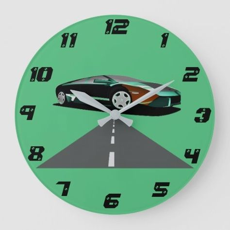 Sports Car And Road Clock Best Fathers Day Ideas Wooden Mothers Day Gifts Did Mothers Day In 2020 Diy Father S Day Presents Diy Gifts For Mothers Diy Gifts For Dad