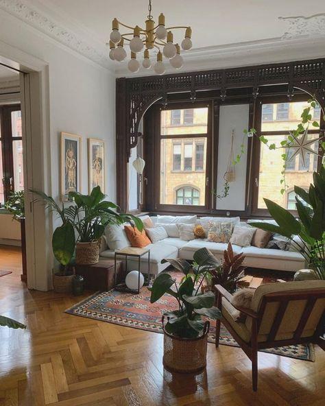Bohemian Latest and Stylish Home Decor Design and Lifestyle Ideas - Bohemian Living Rooms Boho Living Room, Modern Living Room, Cheap Home Decor, Stylish Home Decor, Home And Living, Trending Decor, Interior Design, Home Decor, House Interior