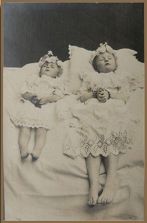 Dead little girls.