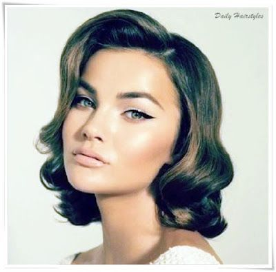 Elegant Retro Hairstyle For Short Hair Hair Short Retro Hair Vintage Short Hair Retro Hairstyles Tutorial