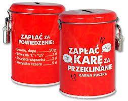 Karna Puszka Zaplac Kare Za Przeklinanie 3787483386 Oficjalne Archiwum Allegro Diy Kare Coffee Cans