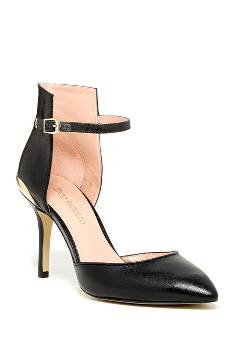 Enzo Angiolini Caswell Ankle Strap Pump by Enzo Angiolini