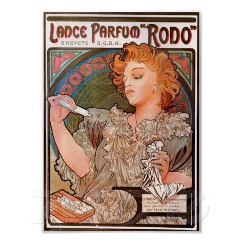 Lance-Parfum, Rodo Poster