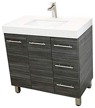 Windbay 36freestanding Bathroom Vanity, Free Standing Bathroom Sink Vanity