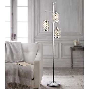 Gisele Crystal Tripod Floor Lamp Crystal Floor Lamp Tripod Floor Lamps Tripod Floor