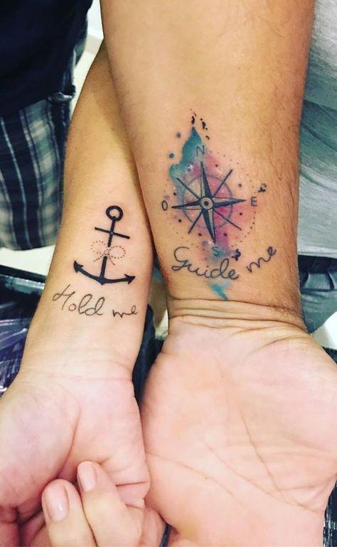 80 Tatuagens de Casal para você fazer com seu amor   TopTatuagens