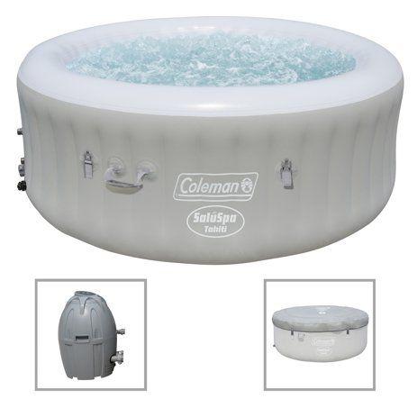Coleman Saluspa 71 X 26 Tahiti Airjet Inflatable Hot Tub 2 4 Person Walmart Com Inflatable Hot Tubs Portable Hot Tub Spa Hot Tubs