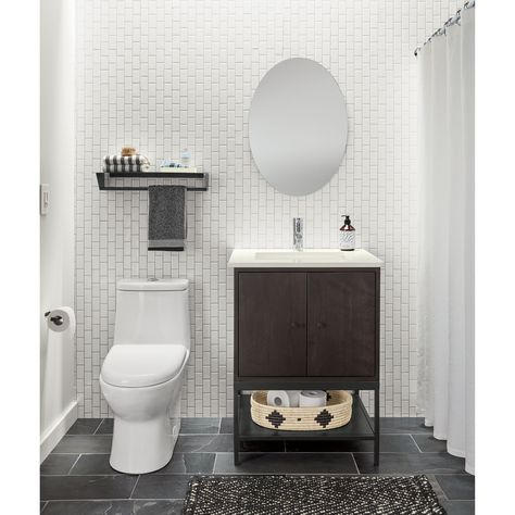 Linear Steel Base Bathroom Vanity Cabinets In 2019 Chambre Boheme