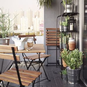 30 Small Apartment Balcony Decorating Ideas Balcon Pequeño