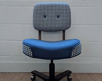 Pin By Hangarone Design On Upcycled Office Chairs Vintage