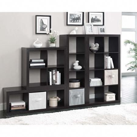 36145ead56390a639d36a24c8cb3a49f - Better Homes And Gardens 4 Cube Organizer Black