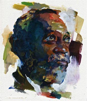 Por Amor Al Arte Stan Miller Watercolor Portraits Acrylic Portrait Painting Fine Art Portraits