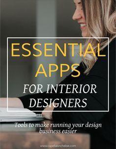 Essential Apps for Interior Designers — Capella Kincheloe