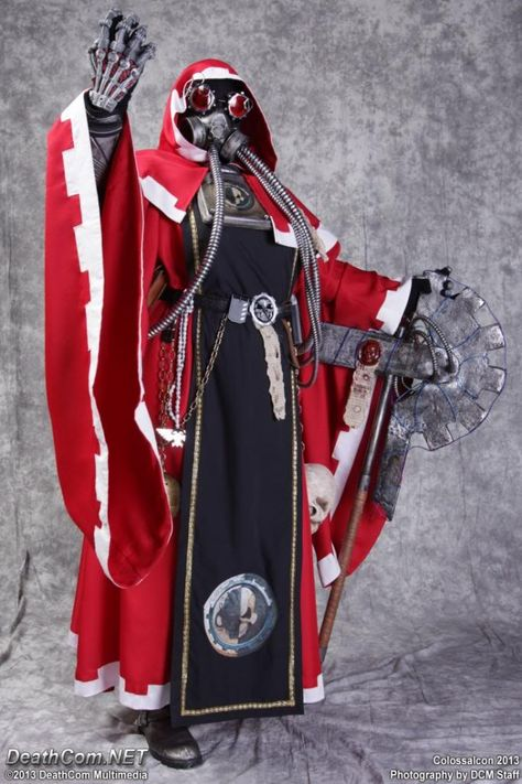 Tech-Priest Elidyr Zilar - page 1 - Costume Gallery - Obscurus Crusade