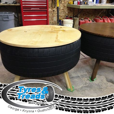 What do you think of this DIY tyre recycling idea? Wishing you all - couchtisch aus autoreifen tavomatico