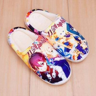 Anime Cute Home Slippers Your browser does not support our video. Shoes Type: BasicSeason: WinterApplicable Place: IndoorUpper Material: FlockItem Type: SlippersOutsole Material: TPRHeel Height: Med (3cm-5cm)Fit: Fits smaller than usual. Please check this store's sizing infoInsole Material: TPRFashion Element: SewingPattern Type: Cartoon AnimationDepartment Name: AdultModel Number: Slippers1Lining Material: Short Plush Size: 36-37,Sole Length:260mm,Sole Size:260(38-39) Size: 38-39,Sole Length:27