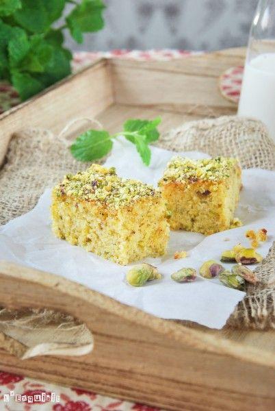 Bizcocho con pistachos al limón | L'Exquisit