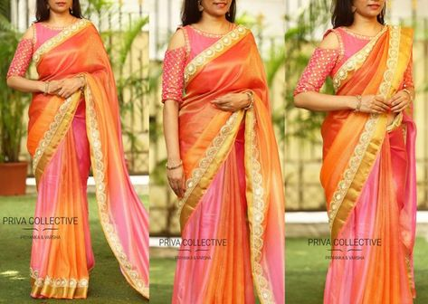15d3af41ca450c List of Pinterest silk saree blouse designs sleeve party wear ...