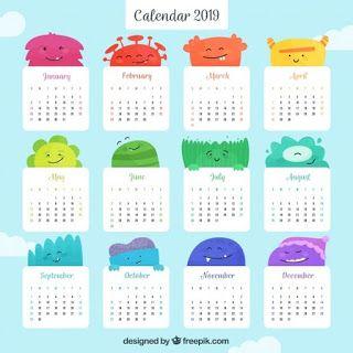 Calendario 2019 Disney Para Imprimir.Calendarios 2019 Gratis Para Imprimir Pdf Word Excel