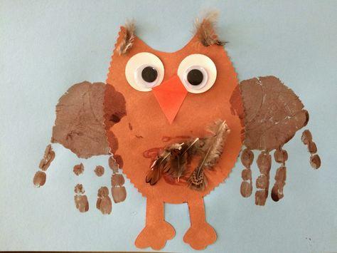 Kara's Classroom: Owl craft and keepsake