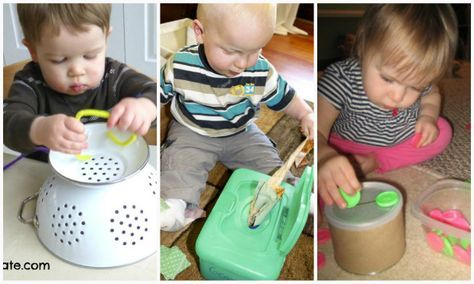Attività e giochi Montessori per bambini 1 anno a costo zero
