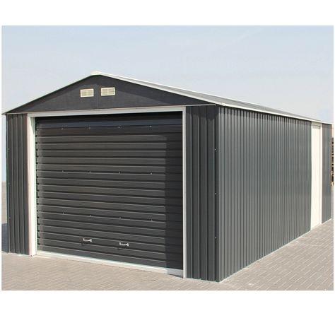 Garage Métal Duramax Porte Sectionnelle Duramax Products