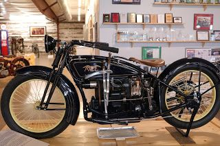 1922 Ace On Display At The St Francis Motorcycle Museum Kansas Motorcycle Henderson Motorcycle Vintage Bikes