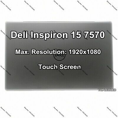 Sponsored 15 6 Dell Inspiron 15 7570 Fhd Lcd Led Display Touch Screen Complete A Display Technologies Led Ebay