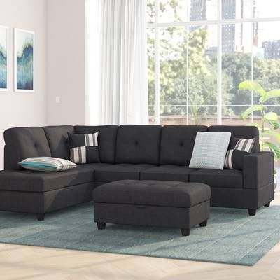 Phenomenal Hemphill Reversible Sectional With Ottoman For The Home In Spiritservingveterans Wood Chair Design Ideas Spiritservingveteransorg