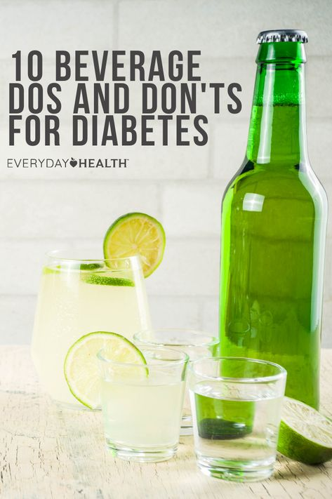 Stay refreshed with healthy drink choices while skipping drinks that cause blood sugar levels to spike.