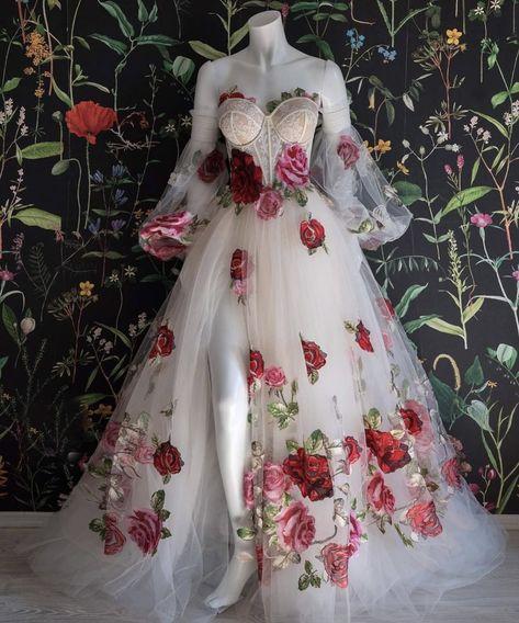 Ball Dresses, Evening Dresses, Prom Dresses, Formal Dresses, Ball Gowns Evening, Ball Gowns Prom, Flower Dresses, Bridal Dresses, Pretty Outfits