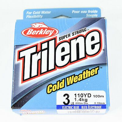 Berkley Trilene Cold Weather Mono Electric Blue 110yds