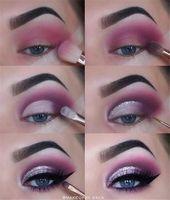 23 Natürliche Smokey Eye Make-up machen Sie brillant #eye #eyemakeup #makeup