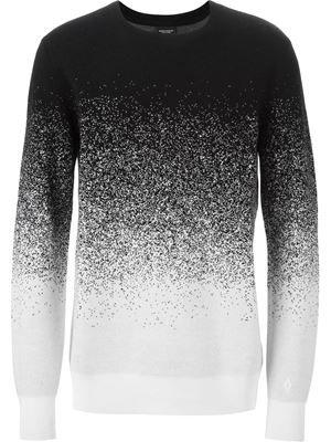 degradé pixel sweater