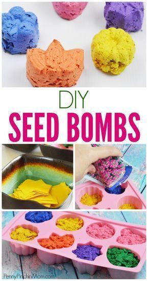 Diy Seed Bombs Diy Craft Tutorials Seed Bombs