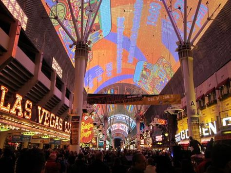 Las Vegas, Nevada, USA the Freemont Street Experience... Most awesome part of Vegas!!