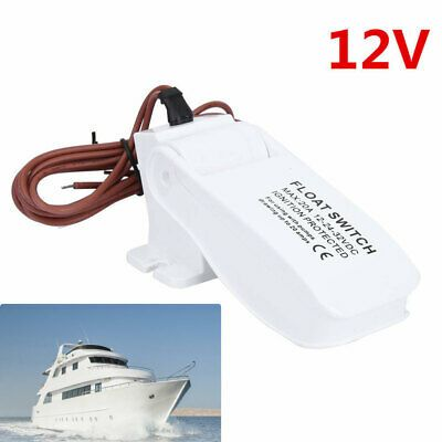 Sponsored Ebay Universal Plastic Automatic Submersible Boat Bilge Water Pump Float Switch 12v In 2020 Water Pumps Submersible Water Pressure Pump