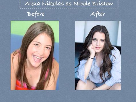 Nicole Now And Before She S Changed Too Zoey 101 Cast Of