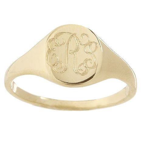 Petite Signet Ring | Mark and Graham Hi Wholesale prices for Gold Signet Rins at http://etsy.me/1RNyLFP