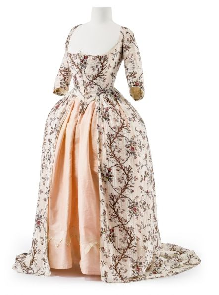 1700 Period Empire Gown