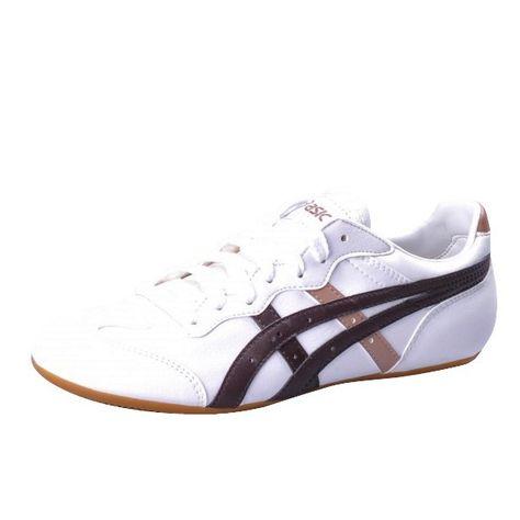 bien connu belles chaussures achat le plus récent Asics Whizzer Lo Schuhe white dark brown | Schuhe ...