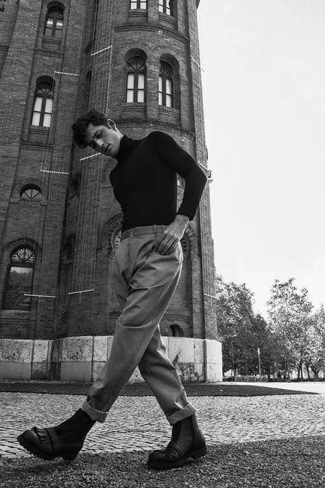 Nylon Spain: Carlos Ferra Wears Fashions with Machismo
