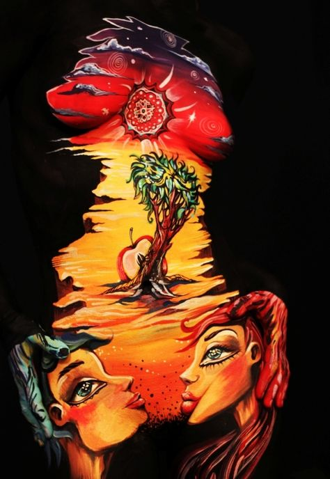 CORE - Natasha Kudashkina | Body Painting Prints