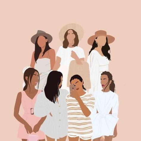 Family Portrait Illustration Custom Digital Art Family   Etsy... - July 25 2019 at 11:00AM #graphicdesign #design