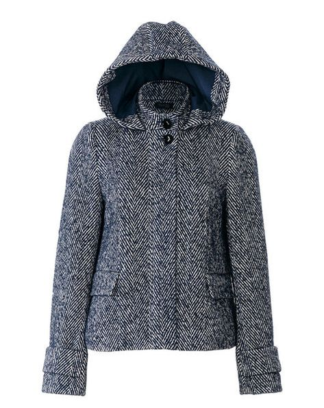 Hooded Jacket 10/2018 #110 – Sewing Patterns | BurdaStyle.com